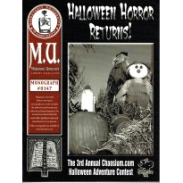 Halloween Horror Returns ! - Miskatonic University Library Association (jdr Call of Cthulhu en VO) 001