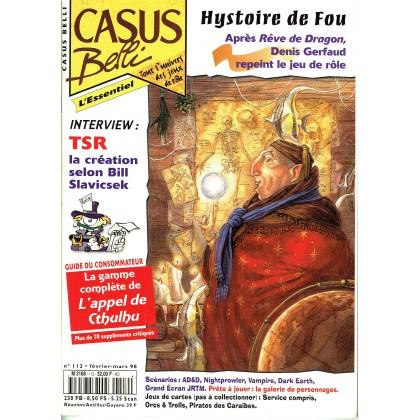 Casus Belli N° 112 (magazine de jeux de rôle) 005