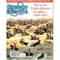 Strategy & Tactics N° 245 - War of the Triple Alliance: Paraguay 1865-1870 (magazine de wargames & jeux de simulation) 001