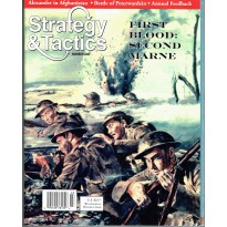 Strategy & Tactics N° 248 - First Blood: Second Marne 1918 (magazine de wargames & jeux de simulation) 001