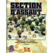 Section d'Assaut - Règle de jeu avec figurines pour la Seconde Guerre Mondiale (Livre V2 en VF)