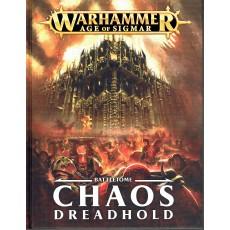 Battletome - Chaos Dreadhold (jeu de figurines Age of Sigmar Warhammer en VF)