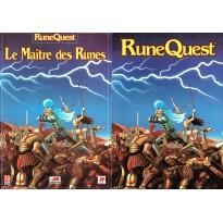 Le Maître des Runes (jdr Runequest 1ère impression avec écran en VF)