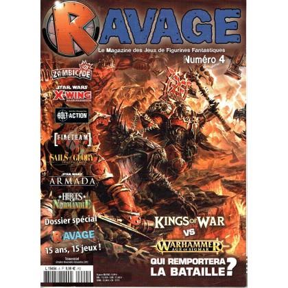 Ravage N° 4 (le Magazine des Jeux de Figurines Fantastiques) 001