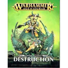 Grand Alliance - Destruction (jeu de figurines Age of Sigmar Warhammer en VF)