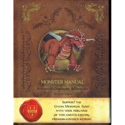 Monster Manual - Edition Premium (jdr AD&D 1ère édition en VO) 001