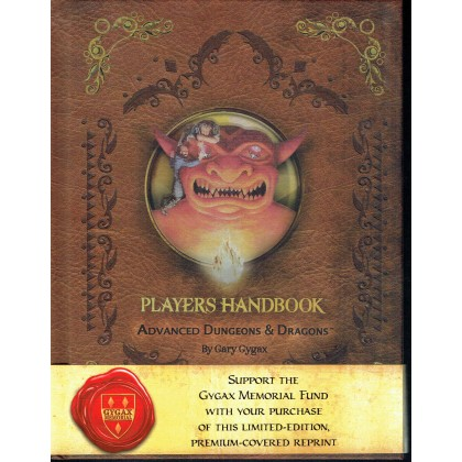 Players Handbook - Edition Premium (jdr AD&D 1ère édition en VO) 001