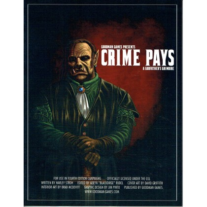 Crime Pays - A Godfather's Grimoire (jdr Dungeons & Dragons 4 en VO) 001