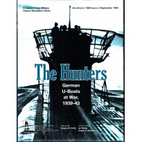 The Hunters - German U-Boats at War, 1939-43 (wargame Consimpress en VO) 002