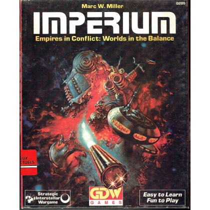 Imperium - Empires in Conflict : Worlds in the Balance (wargame GDW en VO) 001