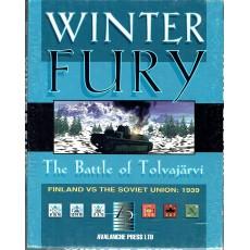 Winter Fury - The Battle of Tolvajärvi 1939 (wargame Avalanche Press en VO)