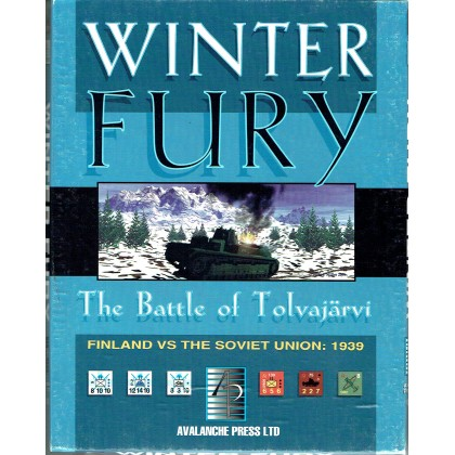 Winter Fury - The Battle of Tolvajärvi 1939 (wargame Avalanche Press en VO) 001