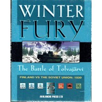 Winter Fury - The Battle of Tolvajärvi 1939 (wargame Avalanche Press en VO) 001