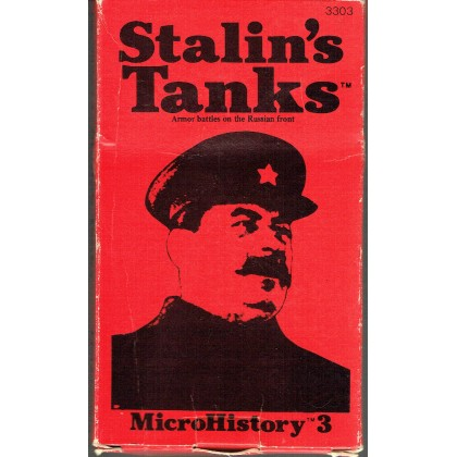 Stalin's Tanks - Armor battles on the russian front (wargame MicroHistory 3 de Metagaming en VO) 001