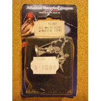Elf Magic-Users with Magical items (blister figurines AD&D Miniatures de Ral Partha)