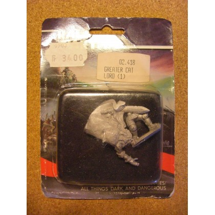 Greater Cat Lord (blister de figurine Fantasy Ral Partha) 002