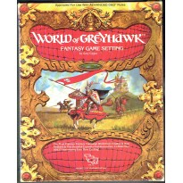 World of Greyhawk - Fantasy Game Setting (jdr AD&D 1ère édition en VO)