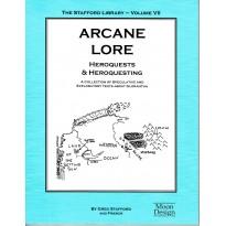 Arcane Lore - The Stafford Library Volume VII (jdr Glorantha Runequest en VO) 001