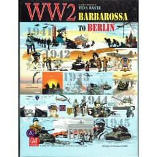 WW2 Barbarossa to Berlin - 1941 to 1945 (wargame GMT V1 & V2 en VO)