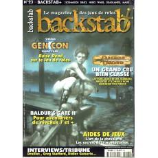 Backstab N° 23 (le magazine des jeux de rôles)