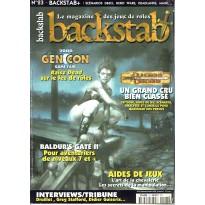 Backstab N° 23 (le magazine des jeux de rôles) 002