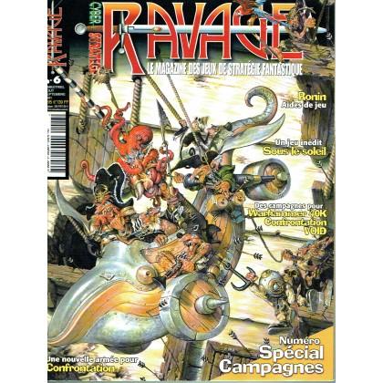 Ravage N° 6 (le Magazine des Jeux de Stratégie Fantastique) 003