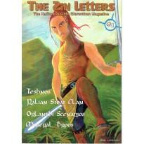 The Zin Letters N° 1 - The Kalikos Society Gloranthan Magazine (jdr Glorantha Runequest en VO) 001