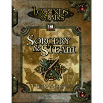 Sorcery & Steam - Legends & Lairs (jdr d20 System en VO) 001