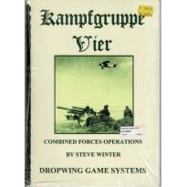 Kampfgruppe Vier - Combined Forces Operations (Jeu d'Histoire avec figurines en VO)
