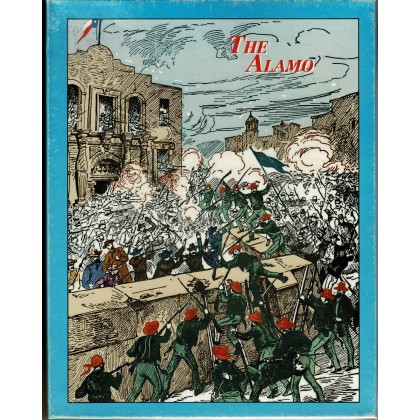 The Alamo (wargame Decision Games en VO) 001