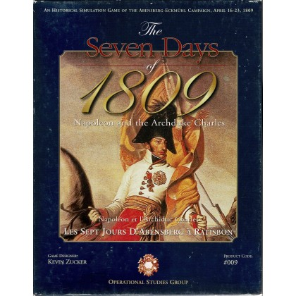 The Seven Days of 1809 - Napoleon and the Archduke Charles (wargame OSG en VO) 001