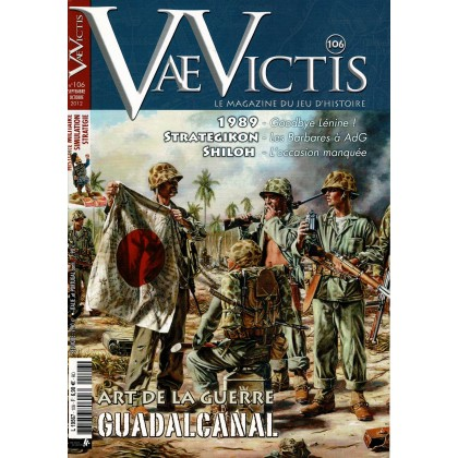 Vae Victis N° 106 (Le Magazine du Jeu d'Histoire) 001