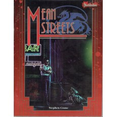 Mean Streets & Gamemaster Screen (jdr Bloodshadows en VO)