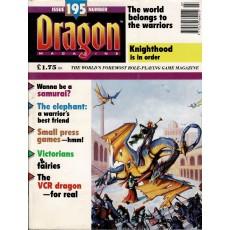 Dragon Magazine N° 195 (magazine de jeux de rôle en VO)