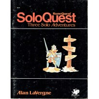 SoloQuest nr. 1 - Three Solo Adventures (jdr Runequest Chaosium en VO) 001