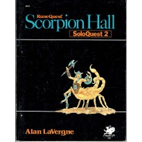 SoloQuest nr. 2 - Scorpion Hall (jdr Runequest Chaosium en VO)