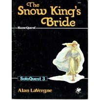 SoloQuest nr. 3 - The Snow King's Bride (jdr Runequest Chaosium en VO)