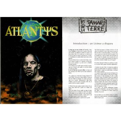 Atlantys - Ecran de jeu & livret de scénario (jdr Sans Peur et sans Reproche en VF) 002