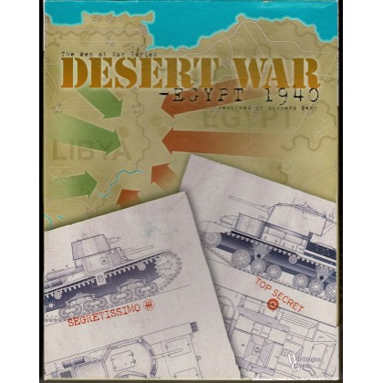 Desert War - Egypt 1940 (wargame Worthington Games en VO) 001