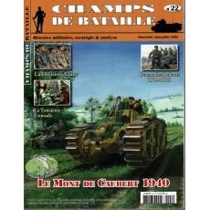 Champs de Bataille N° 22 (Magazine histoire militaire & stratégie)