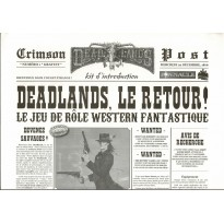 Crimson Post N° 1 - Kit d'introduction (jdr Deadlands Reloaded en VF) 002