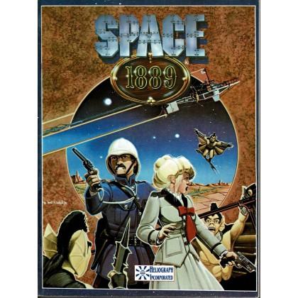 Space 1889 - Livre de Base (jdr 1ère édition 2e impression en VO) 001