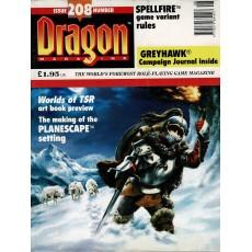 Dragon Magazine N° 208 (magazine de jeux de rôle en VO)