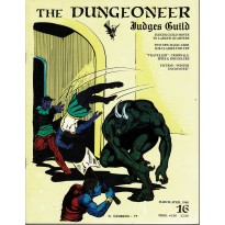 The Dungeoneer N° 16 - Judges Guild (magazine de jeux de rôle en VO) 001