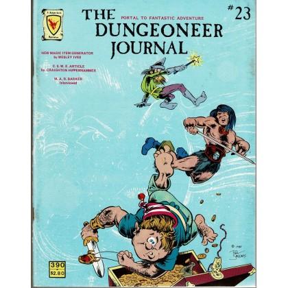 The Dungeoneer N° 23 - Judges Guild (magazine de jeux de rôle en VO) 001