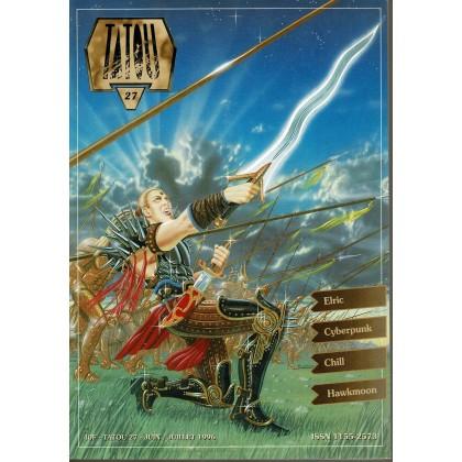Tatou N° 27 (magazine pour les aventuriers des mondes d'Oriflam) 005