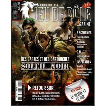 Jeu de Rôle Magazine N° 35 (revue de jeux de rôles) 003