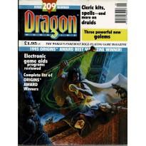 Dragon Magazine N° 209 (magazine de jeux de rôle en VO)