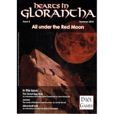 Hearts in Glorantha Issue 4 - All under the Red Moon (jdr D101 Games en VO)