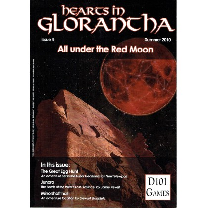 Hearts in Glorantha Issue 4 - All under the Red Moon (jdr D101 Games en VO) 001
